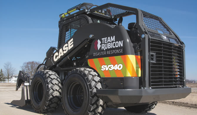 "CASE ""Team Rubicon Disaster Response SV340"" Unveiled"