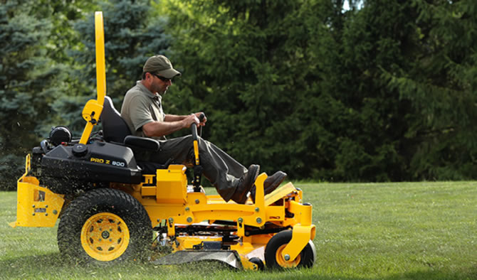 Cub Cadet Professional – Built By One Standard: Yours