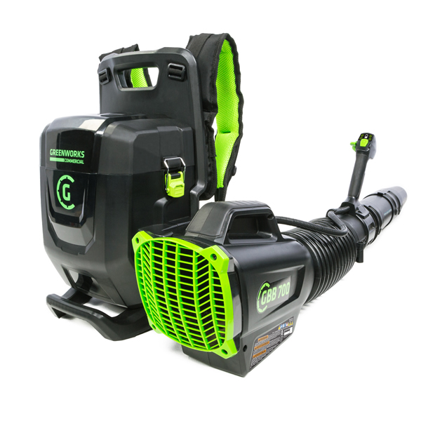 GREENWORKS COMMERCIAL ADDS TO ITS POWERFUL LEAF BLOWER