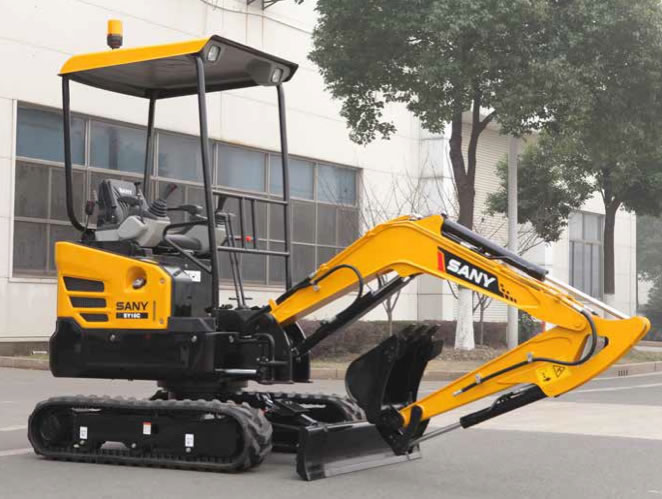 Sany Introduces Its First Compact Excavators at CONEXPO-CON