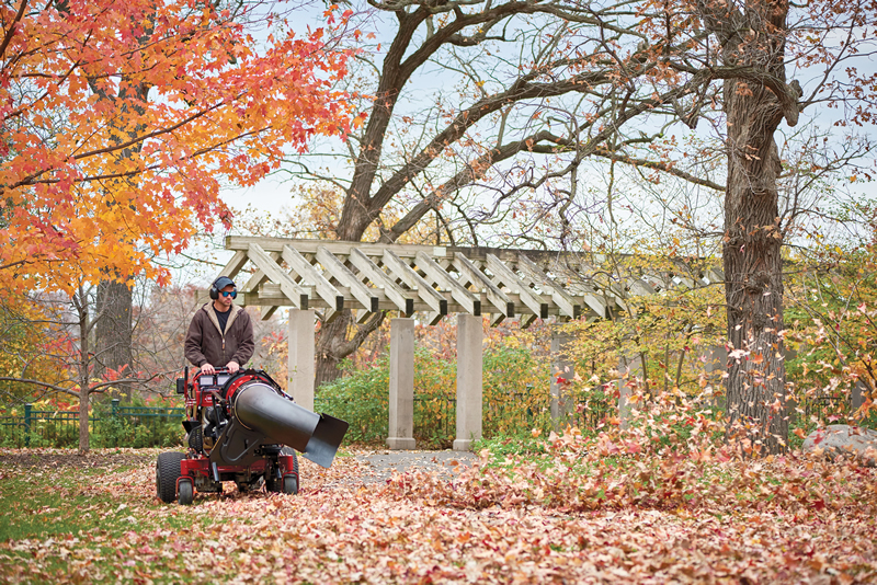 Toro Enhances Grandstand Multi Force Versatility With Blower Attachment
